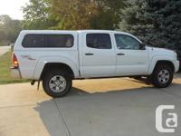 Tacoma Truck Cap Truck Cap S/B Standard Features: *