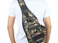 Tactical Military Molle Utility Crossbody Sling Bag -