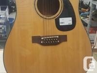 Takamine EF385 12 String Electric Acoustic Guitar
