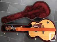 The EG523SC is a large body guitar with big sound. It's