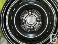 4 bolt 14 inch wheel for sell. Good for honda civic.
