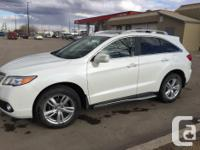 Make Acura Model RDX Year 2013 Colour White kms 53000