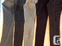 Tall size jeans (3) and dressy/stretch Pixie pants (1)