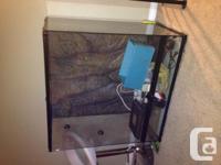 TALL TANK -- $300 FIRM -- EUC (Great for Chameleons,