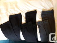 Long yoga pants from Old Navy, 3 pairs in good