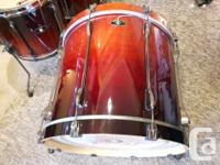 These are Supremely good sounding drums in Dark Cherry