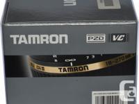 Used Tamron 18-270 PZD for Nikon crop sensor camera. A