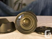 Excellent quality standard zoom lens with image