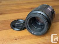 Great condition macro lens. Has push/pull manual/AF