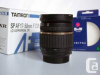 Tamron SP AF 17-50mm f/2.8 XR Di II LD IF Lens for