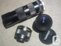 AVAILABLE:.  TAMRON SP BBAR MC 2X TELECONVERTER 01F.