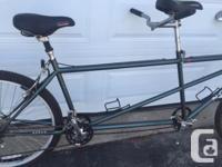 Norco Evolution Tandem Bike 21 speed Shimano ZTX
