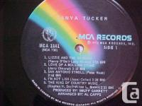 MCA RECORDS RELEASED THIS RECORD ALBUM BY TANYA TUCKER