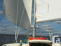 "Tanzer 22 Sailboat - ""Blue Mist"" - 8HP outboard, dual"