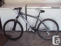 "Bike: 2012 Raleigh Tarantula. Dimension: 16"" Adult."