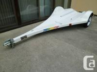 Targer Fiberglass Single Jet Ski Trailer by J-Craft.