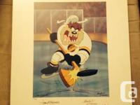 1994 Warner Bros. NHL Tasmanian Devil Vancouver Canucks