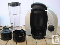 Hi, I am selling a great condition braun tassimo 3107