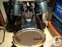Taye Drum Set For Sale Rock Pro Model  Price Reduced