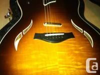 Figured Maple leading in Tobacco Sunburst