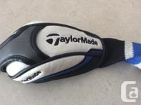 Taylormade speed blade irons ,graphite reg shafts.