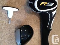 Right hand TaylorMade R9 Driver, 11.5 degree loft,