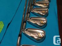 Used, Selling 2013 Taylor Rocketbladez Irons. Men's right for sale  Alberta