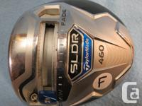 LEFT HAND TAYLORMADE SLDR - 9.5 LOFT. Comes with a