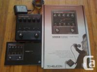 TC Helicon Voice Tone Correct pedal for sale Great
