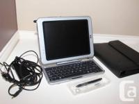 HP TC1100 Windows Tablet computer PC with removable