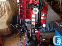 Available for sale is a Seeker TC 3500 tire changer in