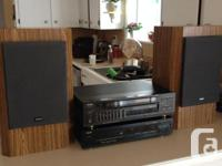 Teac Stereo System, has single CD Player, Receiver and