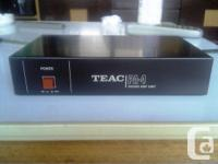 A professional quality phono preamplifier with 2 sets