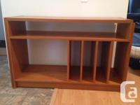 Teak multi purpose shelf. Couple minor scratches,