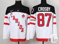 New Group Canada Sidney Crosby hockey jacket.