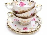 WANTED: Heaps of colourful teacups, mix matched dishes,