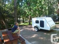 Home made teardrop trailer. Build on a Rance all