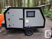 4 x 8 foot tear drop trailer for sale. This trailer