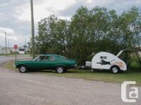 Vintage teardrop trailer for sale. $6550. We've had a