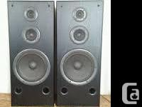 Hi, these are a pair of great looking and sounding
