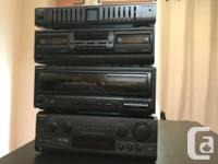 Technics stereo system Unit - Home theatre Two big