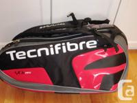 Tecnifibre VO2 Max 6 Pack Tennis Bag in a sophisticated