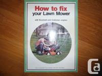"""""""How To Fix Your Lawn Mower- With Tecumseh And"""
