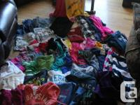 Lge assortment of girls clothes - $150 for whole