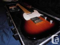 I have an American Made Fender Telecaster available for