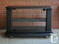 Folding Table WITH strong TIRES. Really functional and