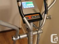 Mint condition Tempo elliptical trainer purchased from