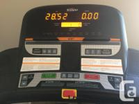 Great quality treadmill in very good condition.