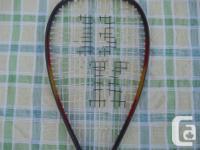 2 Tennis racquets. Head = SOLD - Slazenger Black Knight