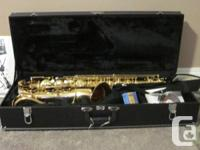 This Jupiter tenor sax is in great condition. Our